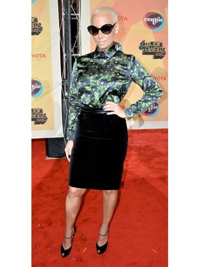 Amber Rose at the Soul Train Awards