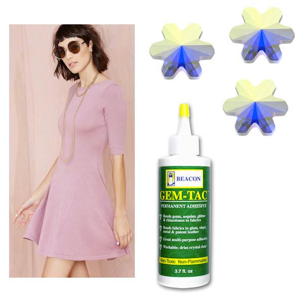 DIY: Embellished Dress