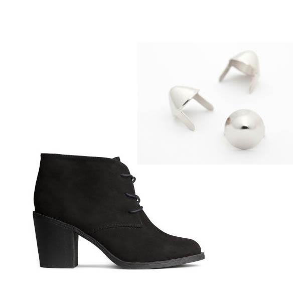 DIY: Studded Boots