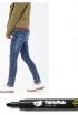 DIY: Sharpie Jeans