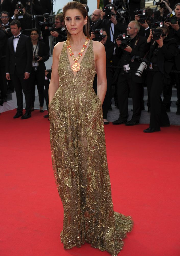 Clotilde Courau at the Premiere of The Search
