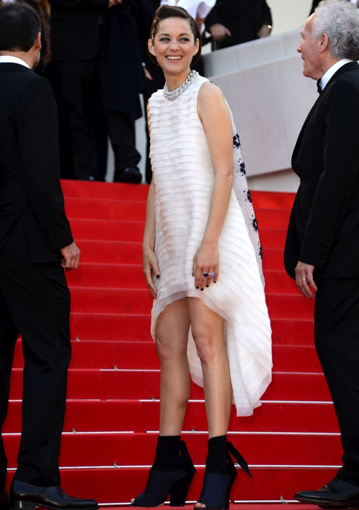Marion Cotillard at the Premiere of Two Days, One Night
