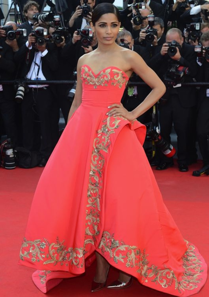Freida Pinto at the Premiere of The Homesman