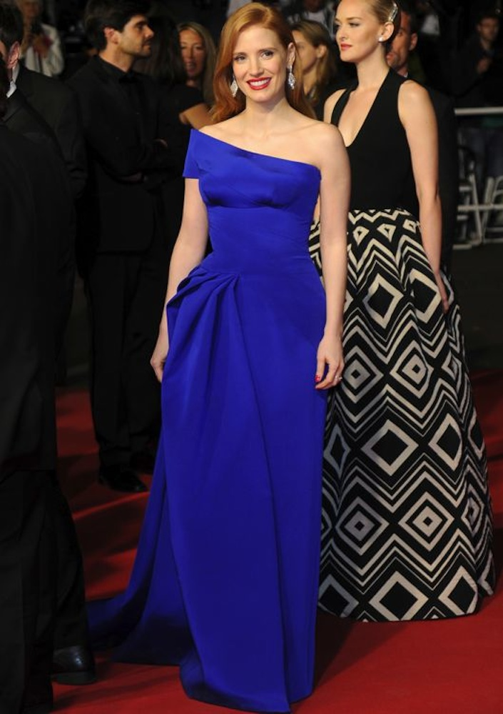 Jessica Chastain at the Premiere of The Disappearance of Eleanor Rigby