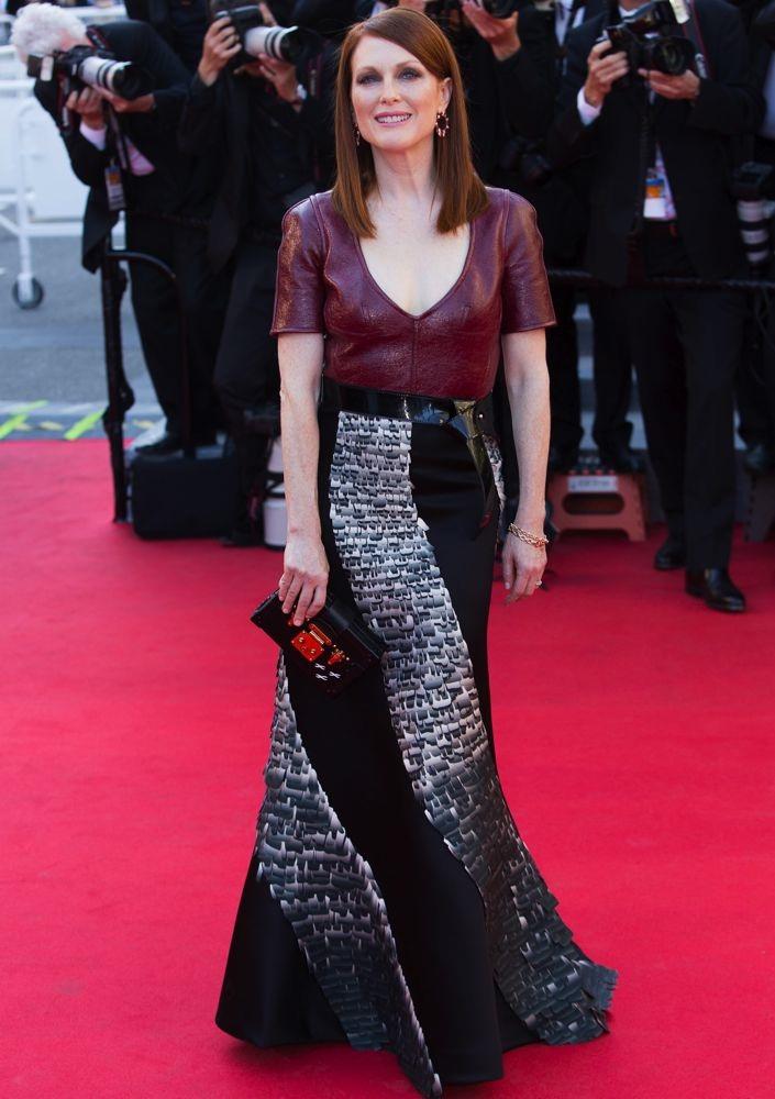 Julianne Moore at the Premiere of Mr. Turner