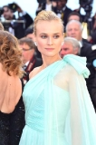 Diane Kruger's Elegant Bun