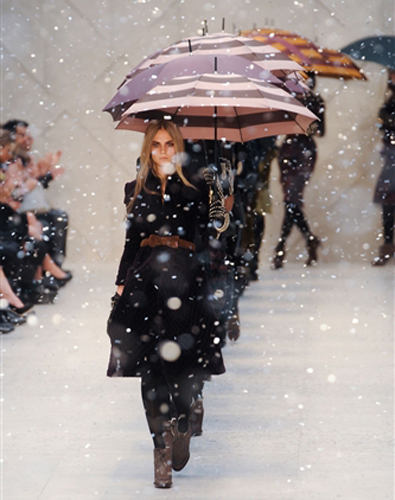 The Rain at Burberry