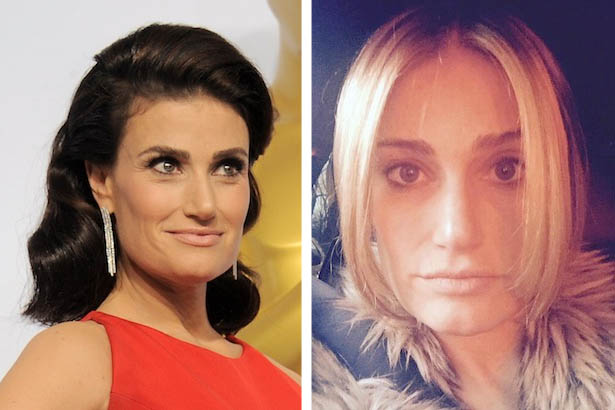 Idina Menzel *May Have* Been Inspired by Queen Elsa