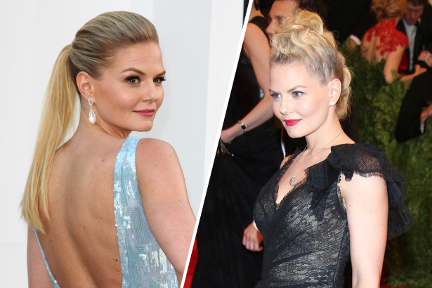 Jennifer Morrison's Faux-Hawk