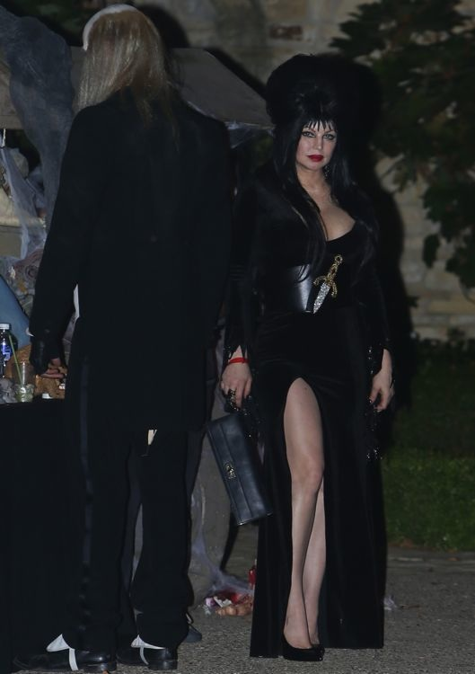 Fergie at Kate Hudson's Pre-Halloween Party
