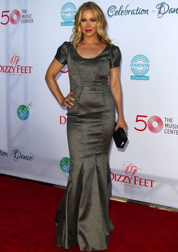 Christina Applegate at the Dizzy Feet Foundation's Celebration of Dance Gala