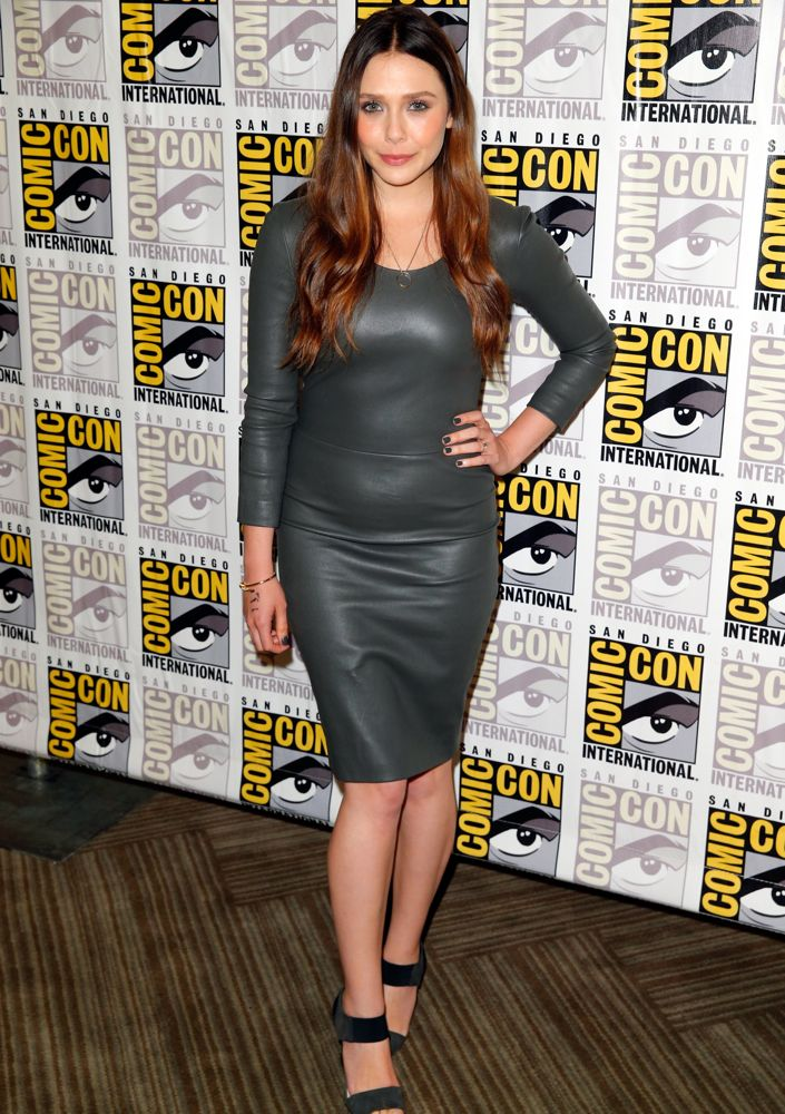 Elizabeth Olsen at Comic-Con International 2014