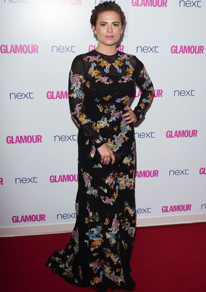 Hayley Atwell at the Glamour Women of the Year Awards 2014