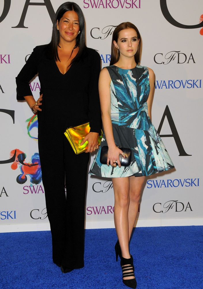 Zoey Deutch and Rebecca Minkoff
