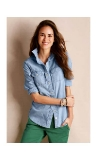 Chambray Button-Downs