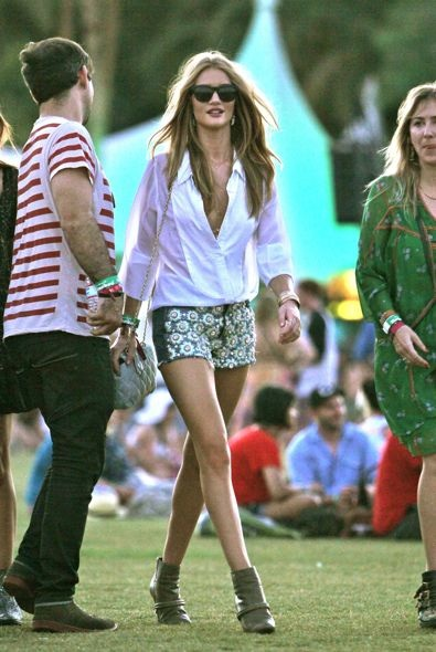 Rosie Huntington-Whiteley Day 1