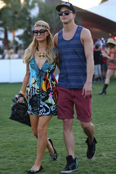 Paris Hilton and River Viiperi Day 1