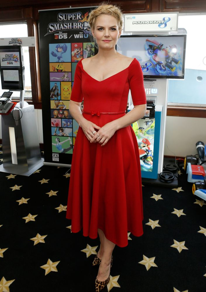 Jennifer Morrison at the Nintendo Lounge on the TV Guide Magazine Yacht
