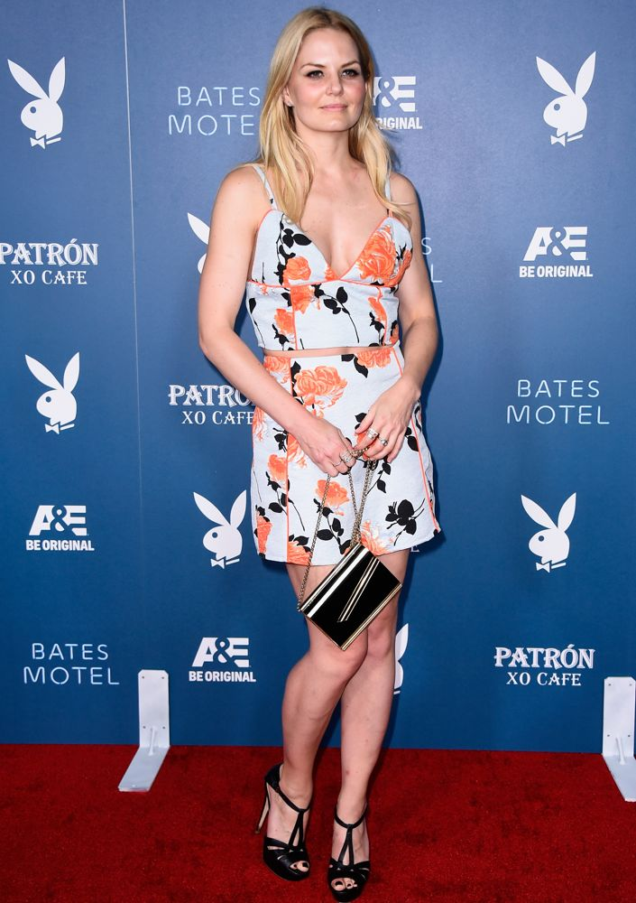 Jennifer Morrison at the Playboy and A&E Bates Motel Event