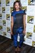 Kat Graham at The Vampire Diaries Press Line