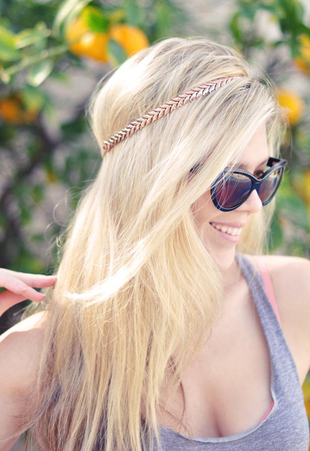 DIY Necklace Headband
