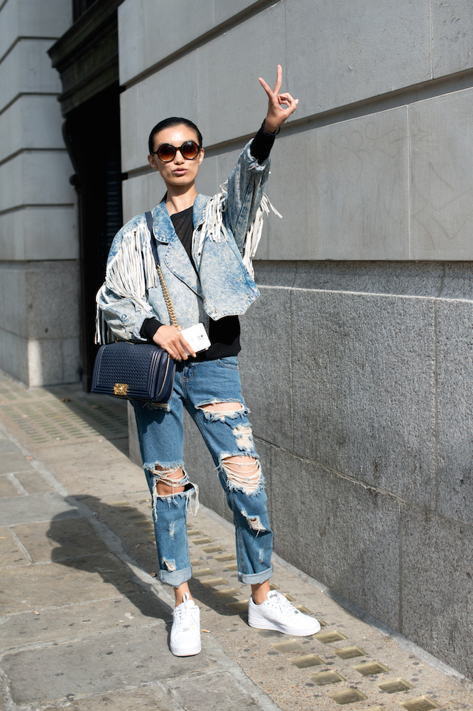 8 DIY Ways to Upgrade Your Denim Jacket for Fall - theFashionSpot