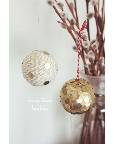 Brass Tack Balls