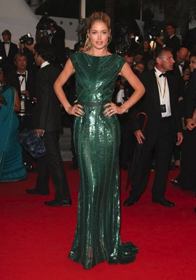 Doutzen Kroes in Elie Saab