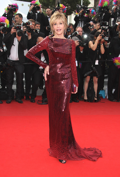 Jane Fonda in Roberto Cavalli