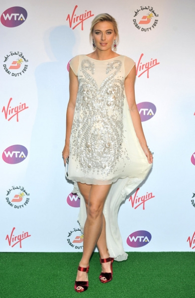 Maria Sharapova in Antonio Berardi