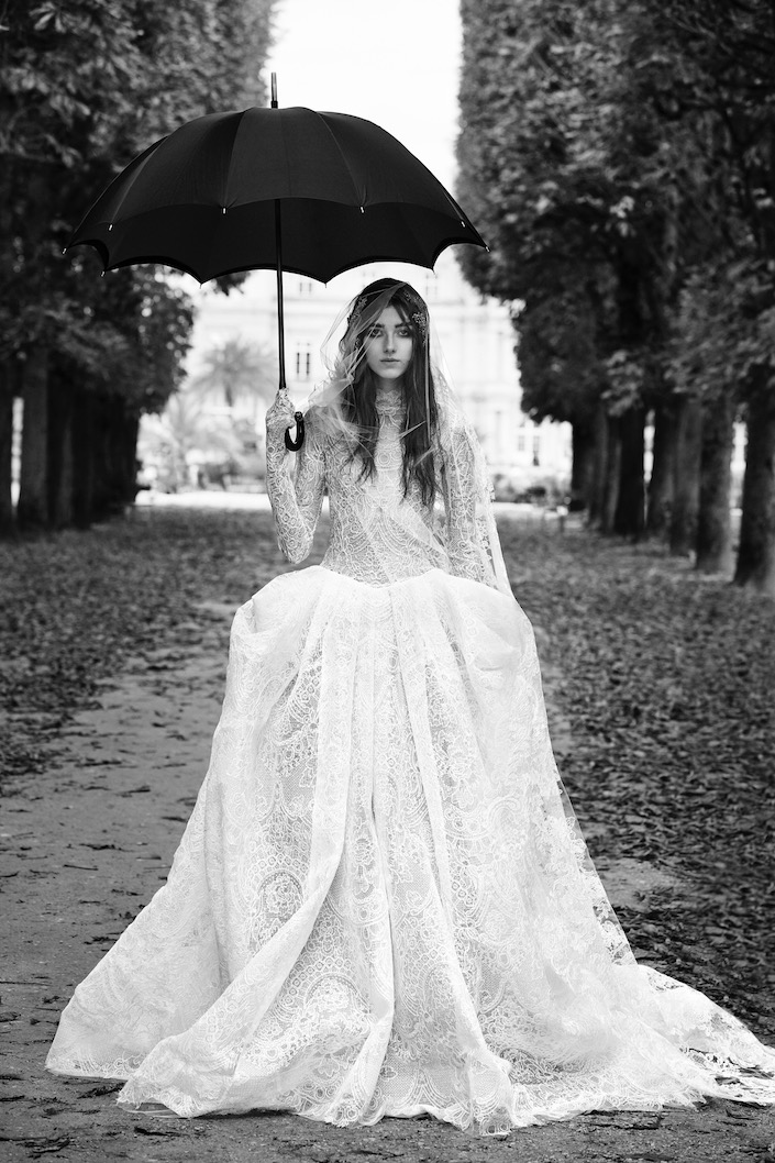 Black wedding dresses 2018