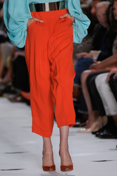 Voluminous Trousers at Diane von Furstenberg