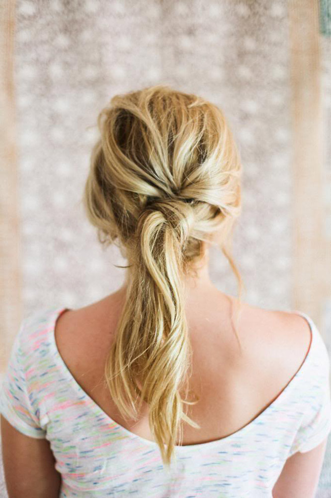 Superb Cute Easy Hairstyles That Will Save You A Ton Of Time Thefashionspot Hairstyles For Women Draintrainus