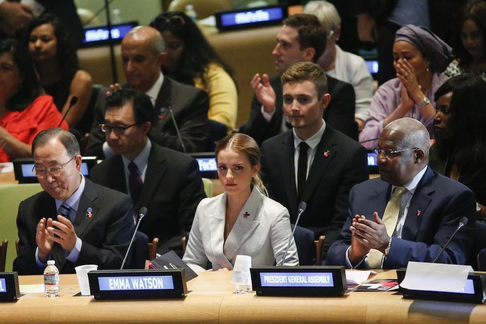 She's a UN Women Goodwill Ambassador
