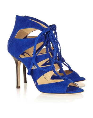 Blue on Your Feet