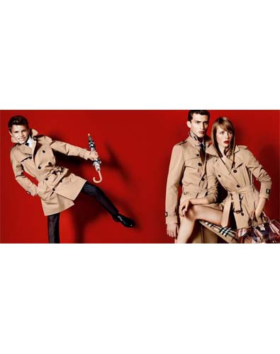 Burberry's Trenches Recruits a Beckham