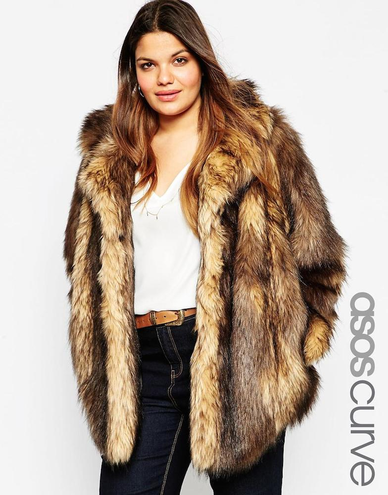 Faux fur coat asos diffe styles here