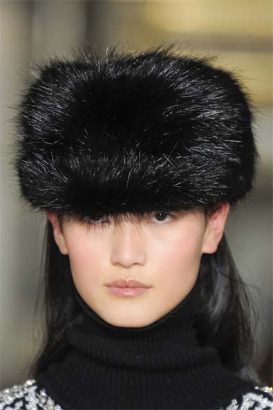 Emilio Pucci's Restrained Fur Cap