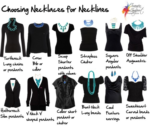 How to Choose Necklaces for Your Necklines