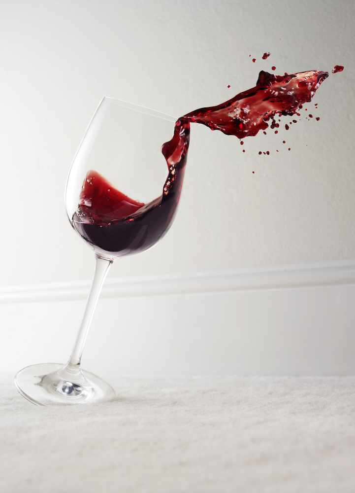 How to Remove Red Wine Stains