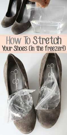 How to Stretch Your Shoes at Home