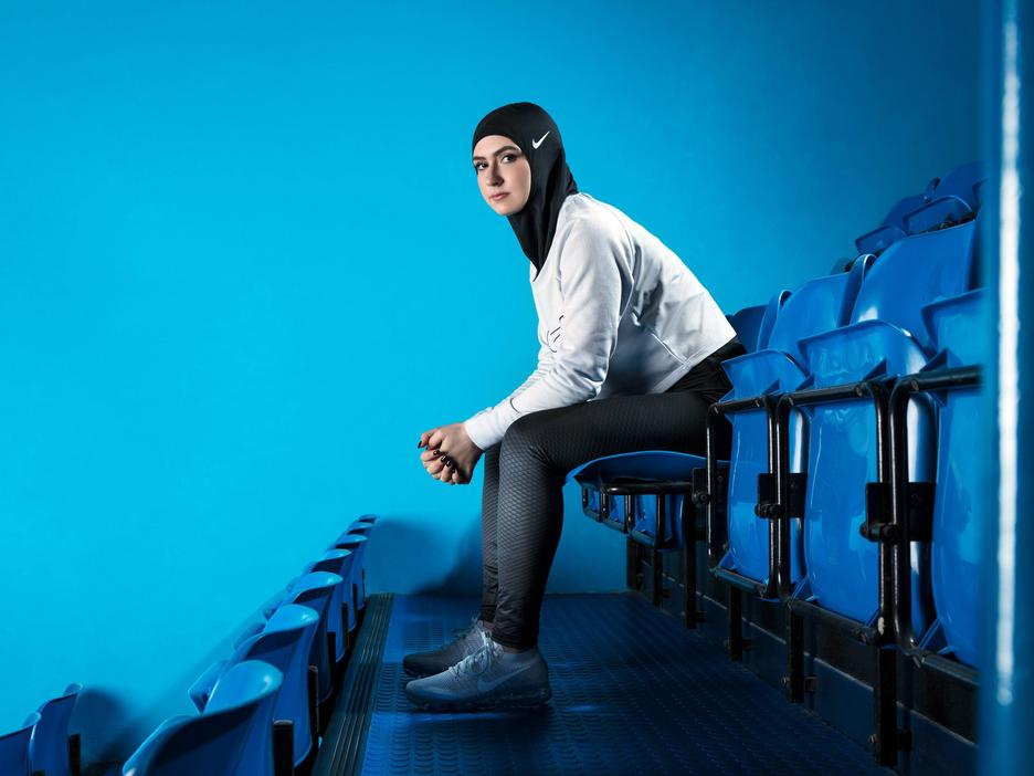 Nike Debuted the Sportswear Hijab