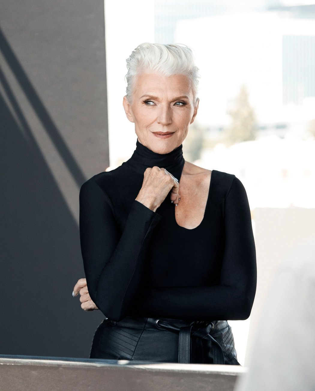 CoverGirl Signed Maye Musk, Its Oldest Ambassador Yet