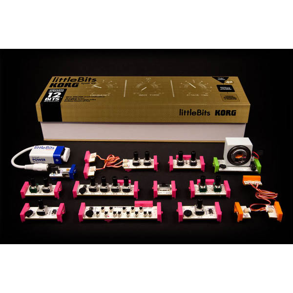 littleBits+KORG Synth Kit