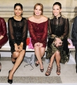Freida Pinto, Leighton Meester, and Hilary Swank
