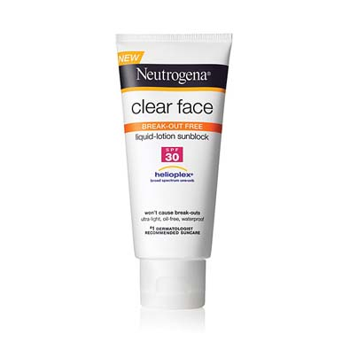 SPF that Clears Skin