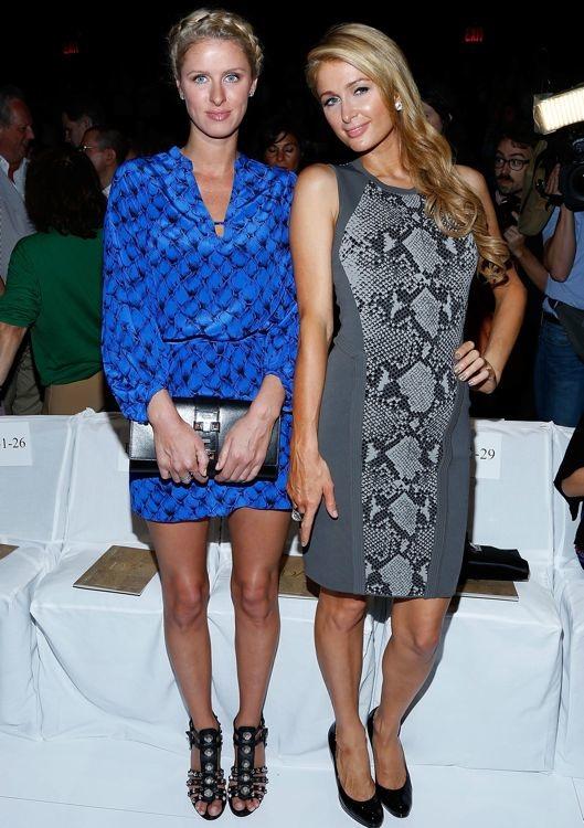Nicky Hilton and Paris Hilton