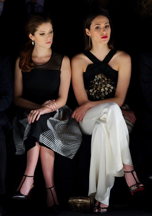 Anna Kendrick and Emmy Rossum