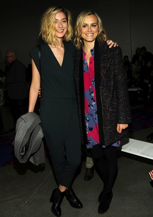 Caitlin FitzGerald and Taylor Schilling