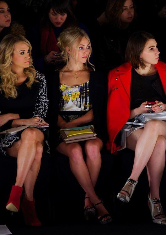 Carrie Underwood, AnnaSophia Robb and Zosia Mamet